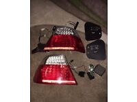 BMW 3 series e46 coupe rear led lights BARGAIN ONLY £80