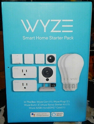 New! Wyze Smart Home Starter Pack  (7288)