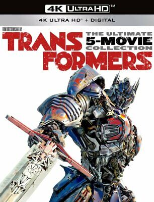 Brand New Transformers 5-Movie Collection (4K Ultra HD, Digital) w/slipcover