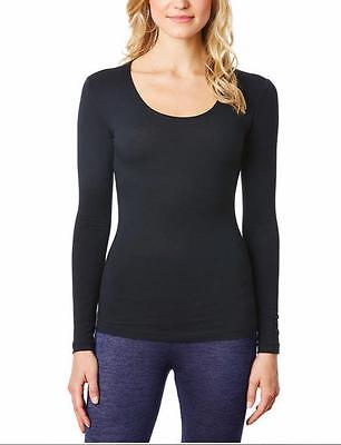 Womens Weatherproof 32 Degrees Heat Base Layer Long Sleeve Scoop Neck Variety