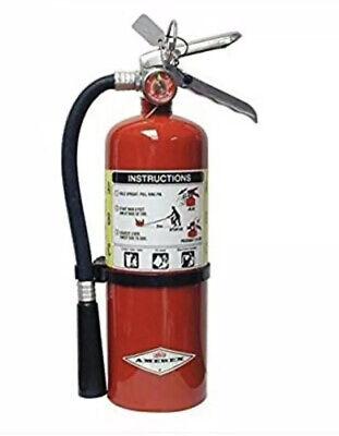 Amerex B500 5lb Abc Dry Chemical Class A B C Fire Extinguisher 2a10bc