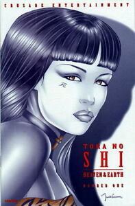 Shi Heaven and Earth #1,  Preview, plus hand sketch   - Signed