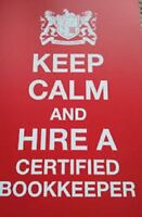 Certified Professional Bookkeeper accepting new clients