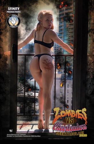 Zombies vs Cheerleaders Geektacular 2020 NEW PRE-ORDER Gemini Rose Cover