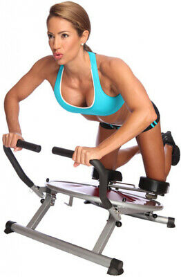 AB Circle Pro Machine DVD Included Core Home Exercise Fitness Weight Loss Abs ()