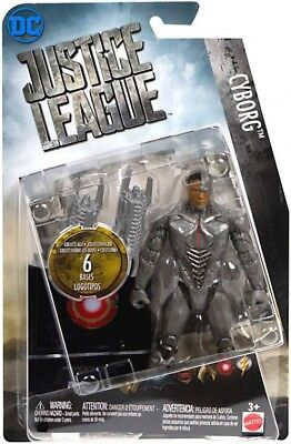 DC Comics Justice League Cyborg Action Figure, 6''