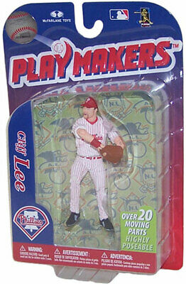 McFarlane Toys Action Figure (4 Inch) MLB Playmakers Series 3 -CLIFF LEE (Phils) 3 Mcfarlane Mlb Series