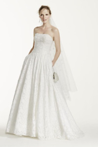 Wedding Dress with pockets - Never worn!