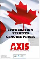 Axis immigration services-Genuine prices-Open weekends