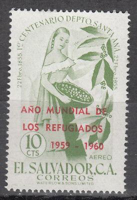 El Salvador Nr. 815** Weltflüchtlingsjahr 1960