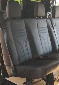 Transit M Sport MS-RT rear seat Crew cab