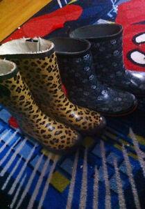 JOE FRESH rain boots size 1