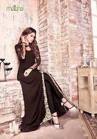 Maisha Indo Western Heavy Embroidered Salwar Kamiz