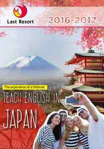 We are looking for English teachers in Japan! Sydney City Inner Sydney Preview