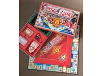 Monopoly Board Game: Manchester United Edition