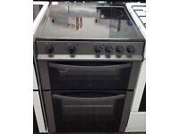 LOGIK Black 60cm electric cooker