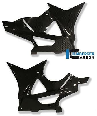 Ilmberger GLOSS Carbon Fibre Bellypan Fairing Covers Set Pair BMW S1000 RR 2012