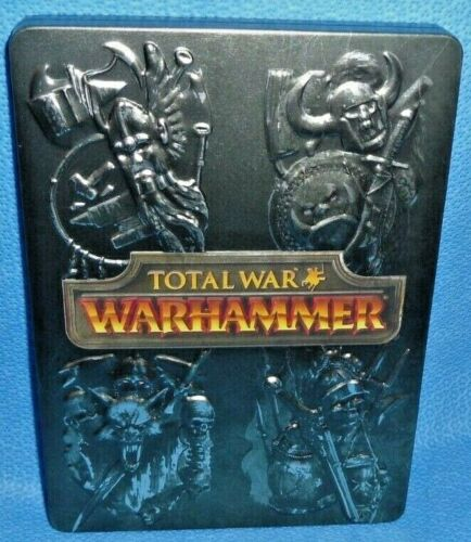 Warhammer Total War Limited SteelBook Case OOP - High King Edition