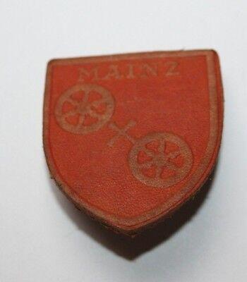 WHW / Winterhilfswerk Abzeichen Gau 10 Hessen-Nassau - Stadtwappen Mainz