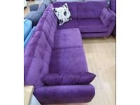 Candy Corner Sofa Plum Purple