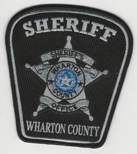 Wharton County Sheriff State Texas TX Blk patch