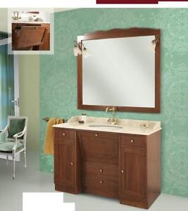 arredo bagno classico roma legno massello
