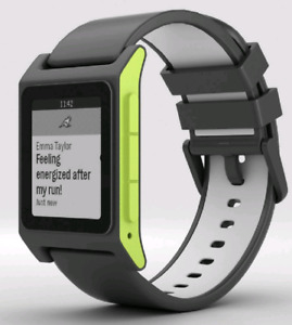 Pebble 2 HR Charcoal/Lime *Rarest Version*