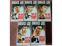 Bruce Lee - set of 5 VHS tapes