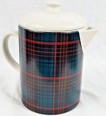 Beverage Server/Pitcher/Pot Plaid - Red/Blue - Hearth & Hand™ with Magnolia NEW!