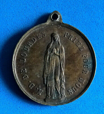 Medal Copper nd Heavy 1858 / Medal