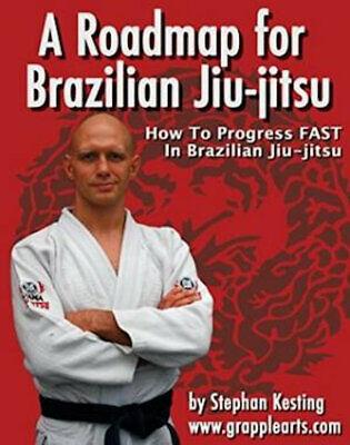 ROADMAP FOR BRAZILIAN JIU JITSU Stephan Kesting 5x DVD Training Set BJJ B520