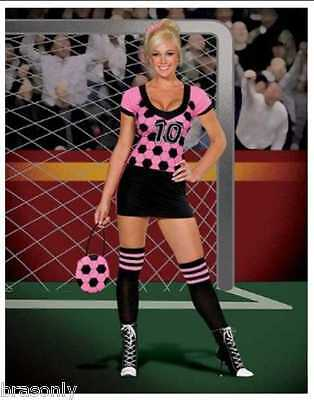 DREAMGIRL 5052 Womens World Cup Kicker Soccer Costume several sizes reg $69](Soccer Costumes)