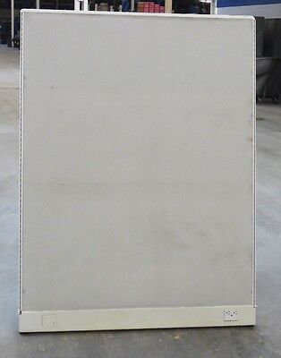 Cubicle Partition 48 Width X 64 Height Fabric Covering Light Beige