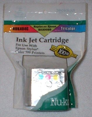 Nu Kote Color - 1 COLOR INK CARTRIDGE NU.KOTE  REPLACES EPSON S020089 NO DATE EXPIRED NUK-404C