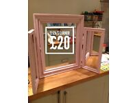 Dressing Table Mirror (Hand Painted)