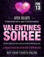 Singles Valentines Party in support of Sick Kids