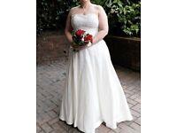 Amanda Wyatt wedding dress to fit size 18