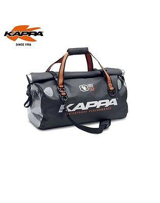 Borsa borsone sella multiuso waterproof Kappa WA404S 50 lt moto quad maxiscooter