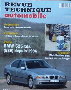 bmw 525 tds serie 5 e39 depuis 1996 revue technique rta 594 1997 tipo tempra. Black Bedroom Furniture Sets. Home Design Ideas