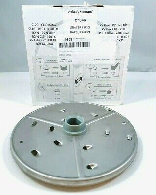 Robot Coupe 27046 6mm 14 Coarse Grating Plate Disc For R2n Machine