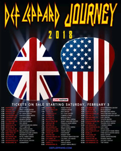 Journey/ Def Leppard tickets