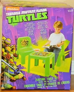 Nickelodeon TMNT Funtime Table And 2 Chair Set