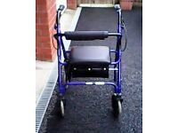 Rollator and frame, offers invited