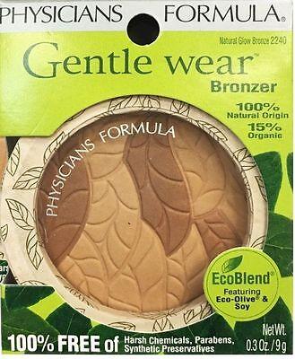 Physicians Formula Gentle Wear Natural Origin Bronzer   Natural Glow  2240
