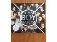 Ultimate Boy Bands Cd, Great for Christmas!