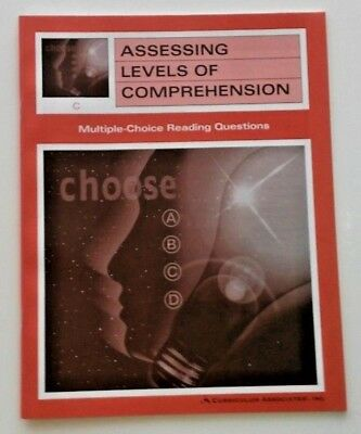 Assessing Levels of Comprehension +Multiple Choice Reading Questions 3rd Grade 3