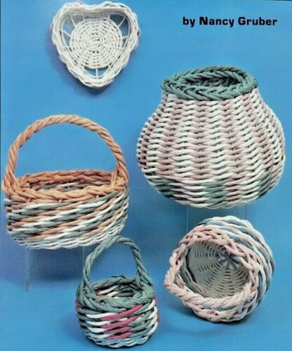 1989 VTG Basketmaking Pattern Book Nancy