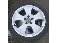 """Audi Sport Alloy Wheels 17"""" x4"""