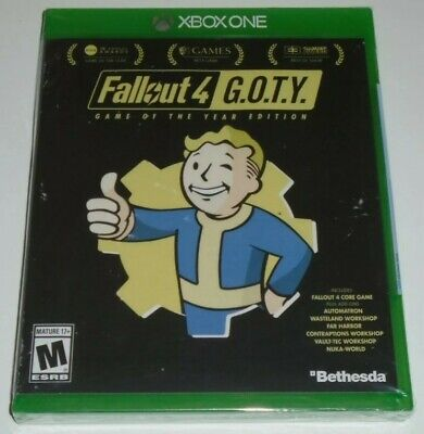 Fallout 4 Game of the Year Edition Xbox One 2017  BRAND NEW SEALED FREE SHIPPING
