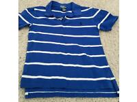 Boys Ralph Lauren tshirt 8 to 9 year old